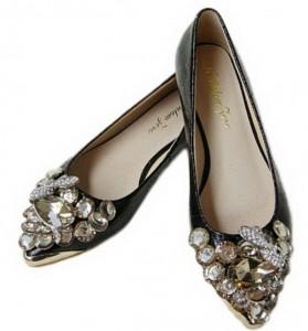 Ravne kožne cipele