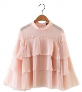Nežne romantične bluze