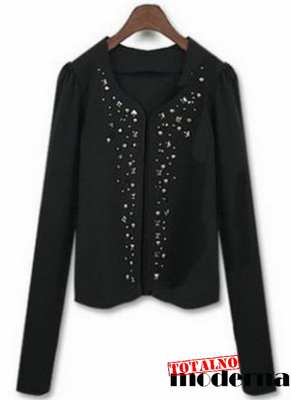 Bluze sa nitnama totalno moderna moda 2018 kupovina for Garderobe bolero