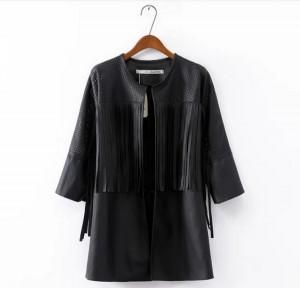 Crna jakna sa resama