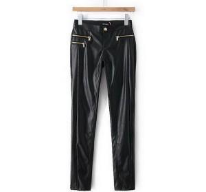 Crne uske pantalone