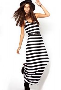 Duga neobavezna haljina