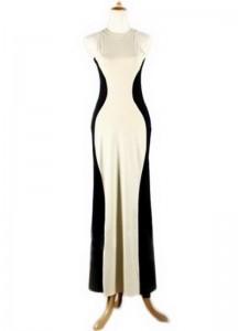 Duga haljina bez rukava