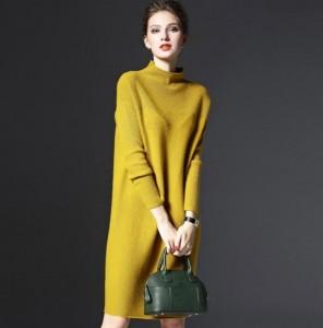 Haljina tunika za jesen i zimu