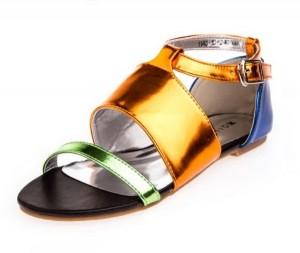 Ravne letnje sandale