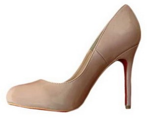 Prljavo roze cipele
