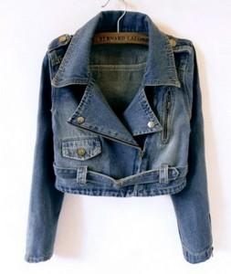Kratka jakna teksas