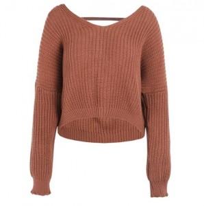 Džemperi sa V izrezom