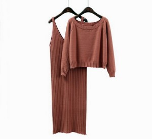 Komplet haljina i džemper