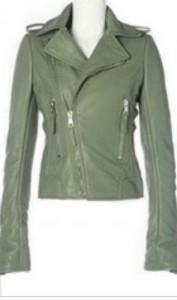Kratka jakna od eko kože