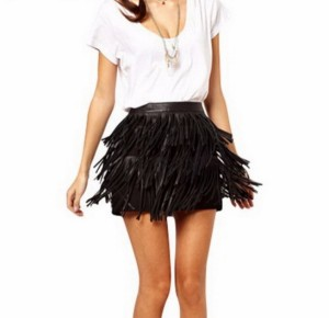 Kratke suknje sa resama