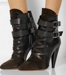 Čizme u dve boje