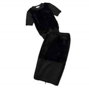 Elegantan komplet u crnoj boji