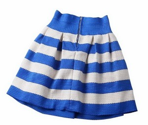Kratke prugaste suknje