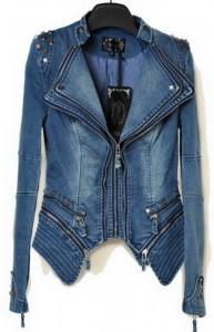 Strukirane teksas jakne