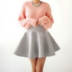 Mini suknje sa podignutim strukom